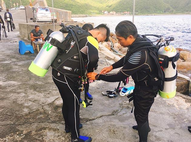 大台北地區PADI開放水域潛水員課程(普拉斯潛水-OW課程) 3