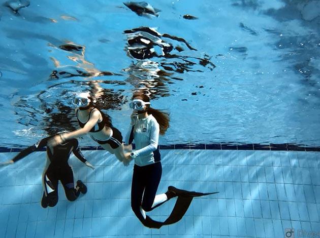 現在報名送面鏡~大台北地區SNSI自由潛水考證班2天1夜(Freediving課程) 5