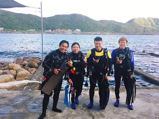 大台北地區PADI開放水域潛水員課程(普拉斯潛水-OW課程) 4
