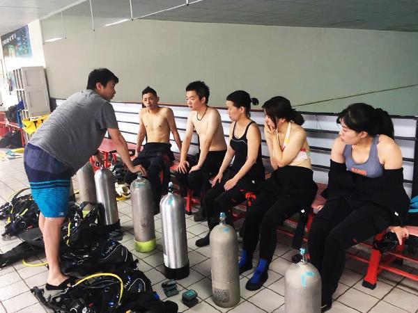 學潛水先修班(開放水域OW課程) 2