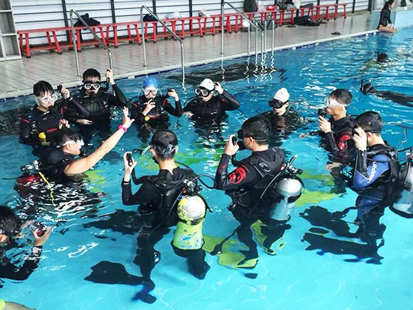 學潛水先修班(開放水域OW課程) 3