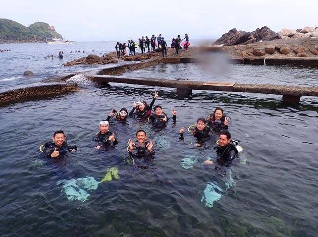 現在報名送高氧~大台北地區SNSI潛水初階考證班2天1夜(OW課程) 2