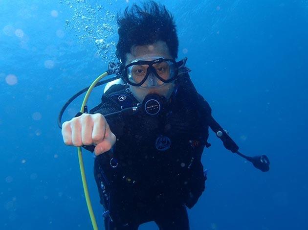 現在報名送高氧~大台北地區SNSI潛水初階考證班2天1夜(OW課程) 1